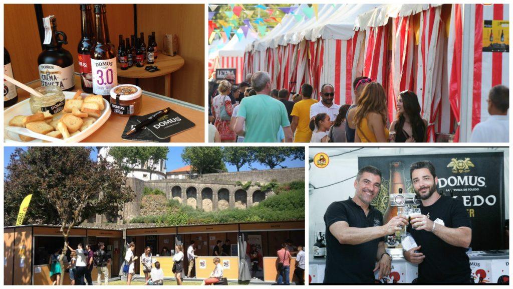 Domus en el Sunset Beer Fest de Gaia y en el Alameda Beer Fest de Faro.